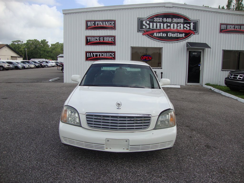 2002 Cadillac Deville 1493 Suncoast Auto Outlet Used Cars For