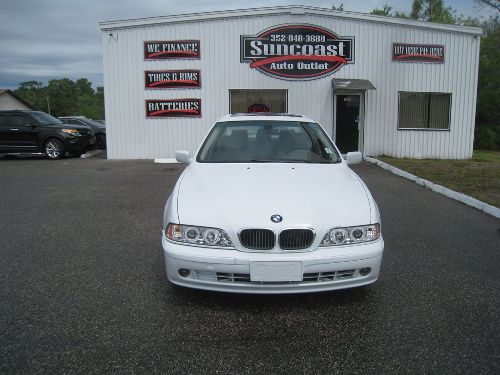 2003 Bmw 5 Series 1640 Suncoast Auto Outlet Used Cars For Sale